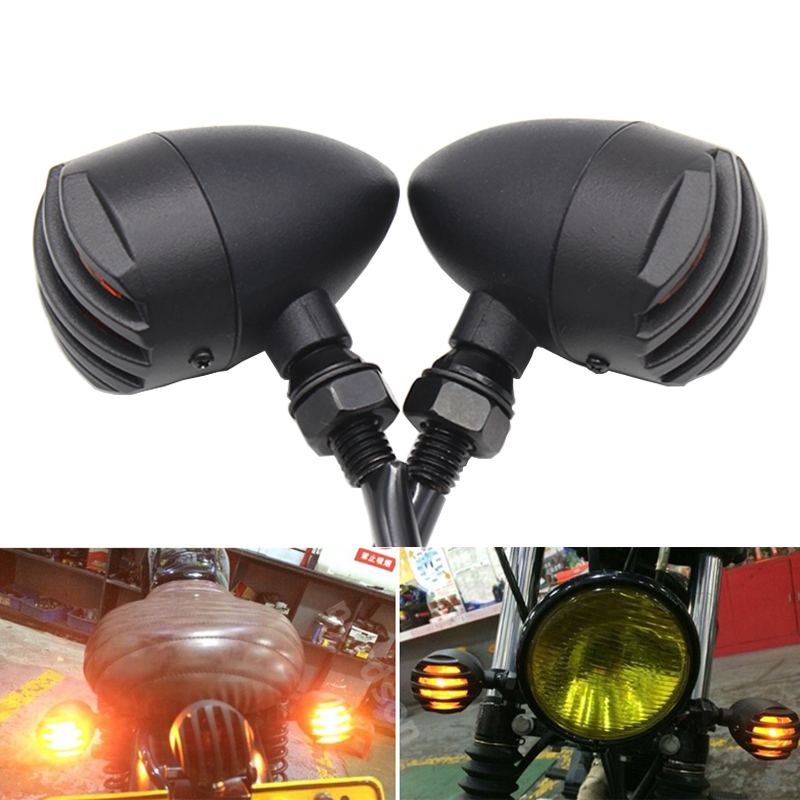 Motorcycle Turn Signal Lights flashers indicators for Harley honda yamaha kawasaki suzuki font b ducati b