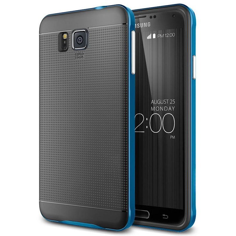 Bumblebee Dot Design Hybrid Armor PC &TPU Case for Galaxy Alpha G850 Protective Shell Cover ET#00196(China (Mainland))