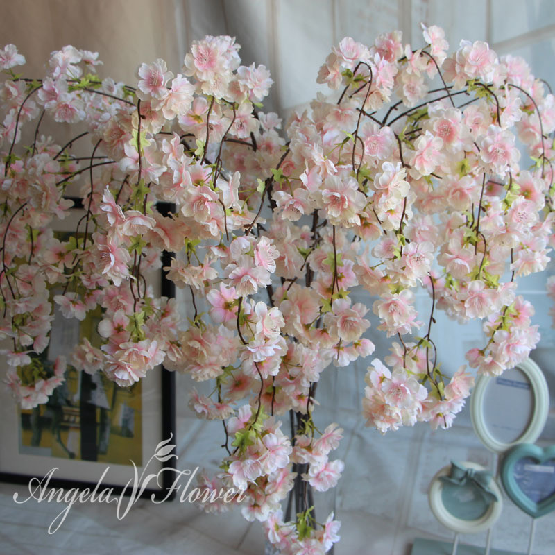 Online cheap natural vertical silk cherry blossom for wedding aeproducttsubject mightylinksfo