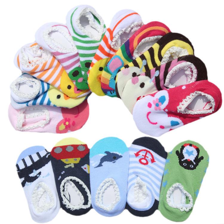 baby shoes The new ultra-popular cartoon nissen lace floor socks baby socks children socks cartoon(China (Mainland))