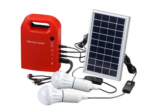 MXSOLAR Portable 3w/4w/5w/10w camping use small solar power system(China (Mainland))
