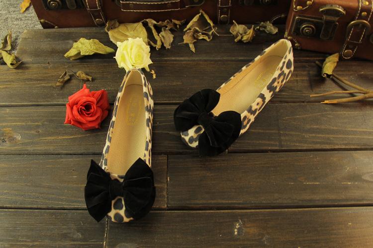 All Season Footwear Women Ballet Flats Shoes Cute Sweet Elegant Shoes Woman Slipony Bow Ladies Boat Shoes Big Size 43