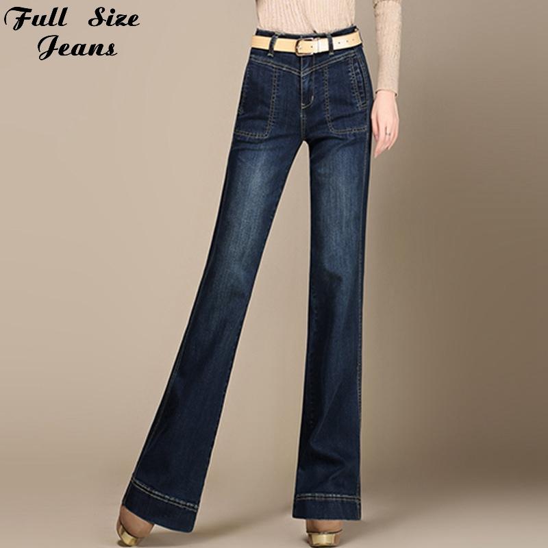 bell bottom plus size jeans - jean dit