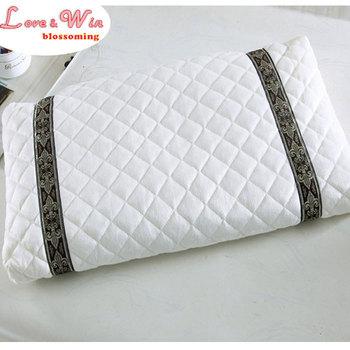 Korean Traditional Buckwheat Pillow : full buckwheat filling health pillow improve sleeping massage pillow thick pure cotton pillow case