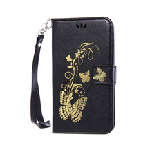 Buy Butterfly Bronzing Mobile Phone Cases Sony Xperia M2 S50H D2303 D2305 D2306 Dual D2302 Stand Flip Housing Hood Covers Bags for $3.56 in AliExpress store