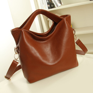 With Good Gifts!2015 women's genuine leather shoulder bags women messenger bags handbags women famous brand bag(China (Mainland))