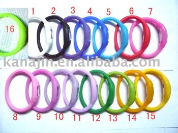 Free Shipping ,10 colours available(100pcs), promotion 2010 new style fashion and high quality unisex ion silicone watch