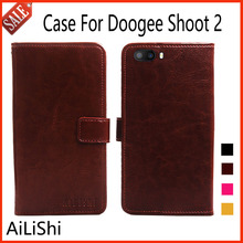 Buy AiLiShi Doogee Shoot 2 Case Cover Luxury Shoot 2 Doogee Leather Case Flip Phone Bag Wallet Card Slot for $3.99 in AliExpress store