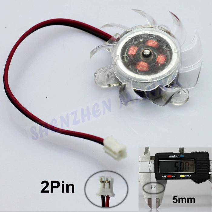 6PCS/LOT FREE SHIPPING SVGA/VGA Video Card Chipset Graphics Blower Cooler Cooling Heatsink 40mm Fan 2pin end FS022(China (Mainland))