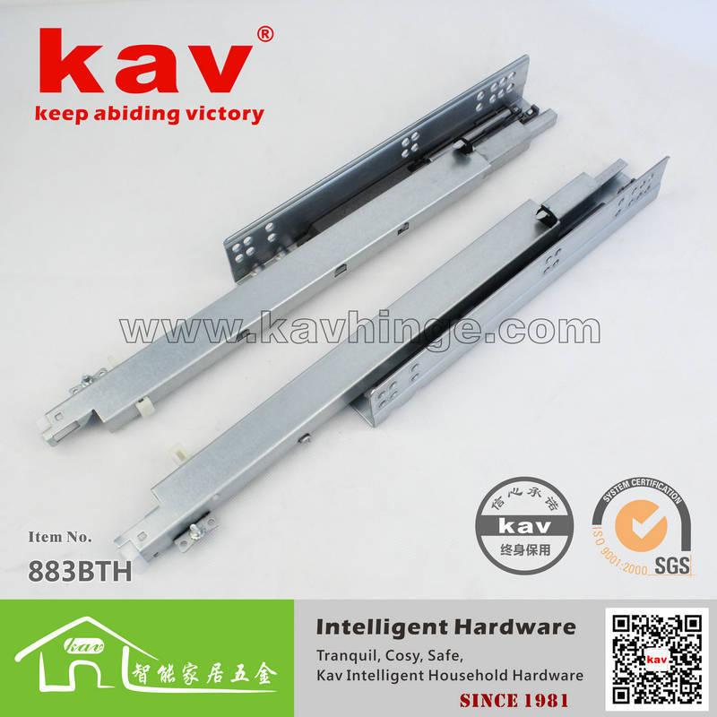 product kav factory direct three hidden tracks buffer underpinning the whole cabinet expansion drawer slides