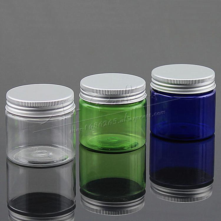 Packaging 37 Diseños De Envases Con Aluminio: 50 Ml Crema Frasco Transparente Pet Cream Jar Botella Con