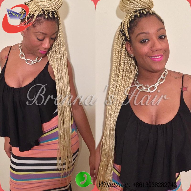 Ombre Blonde Box Braids Top All Rage