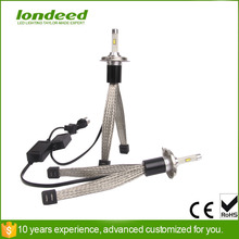 Super Bright 4800lm H4 Hi Lo Beam White 12v 6000K Car LED Headlight Conversion Kit Xenon replacement(China (Mainland))
