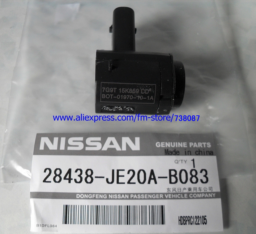 Park Distance Control Sensor(PDC Sensor) for Nissan Qashqai. OEM:28438-JE20A In Stock(China (Mainland))