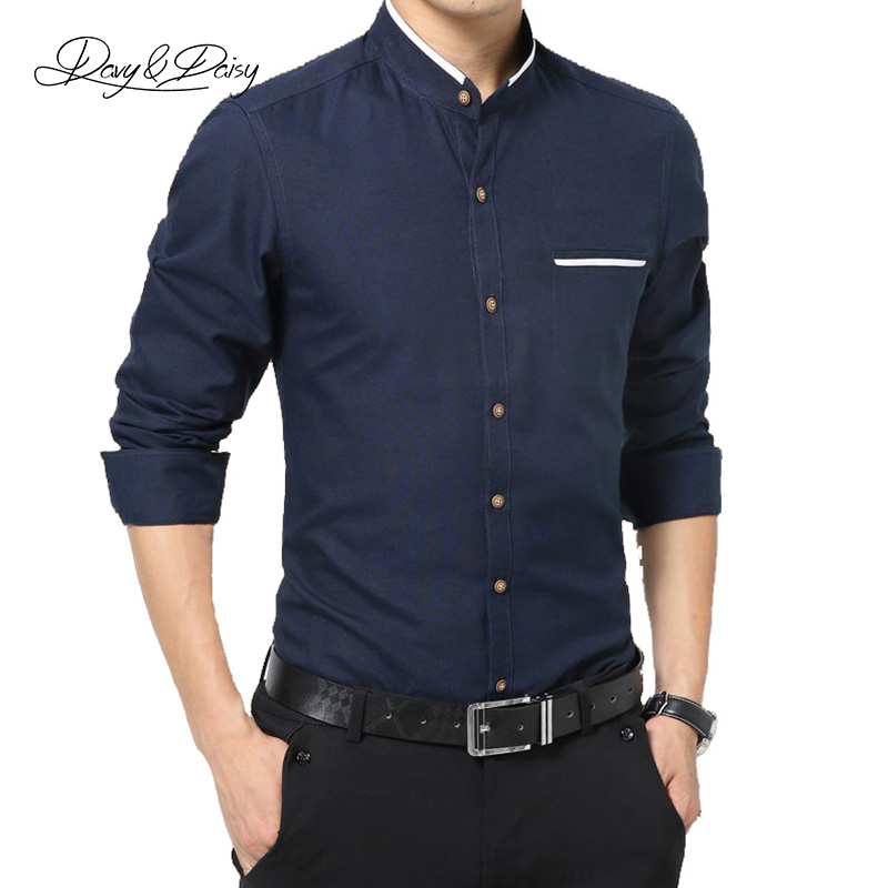 Popular mens high collar dress shirts buy cheap mens high for Mens high collar dress shirts