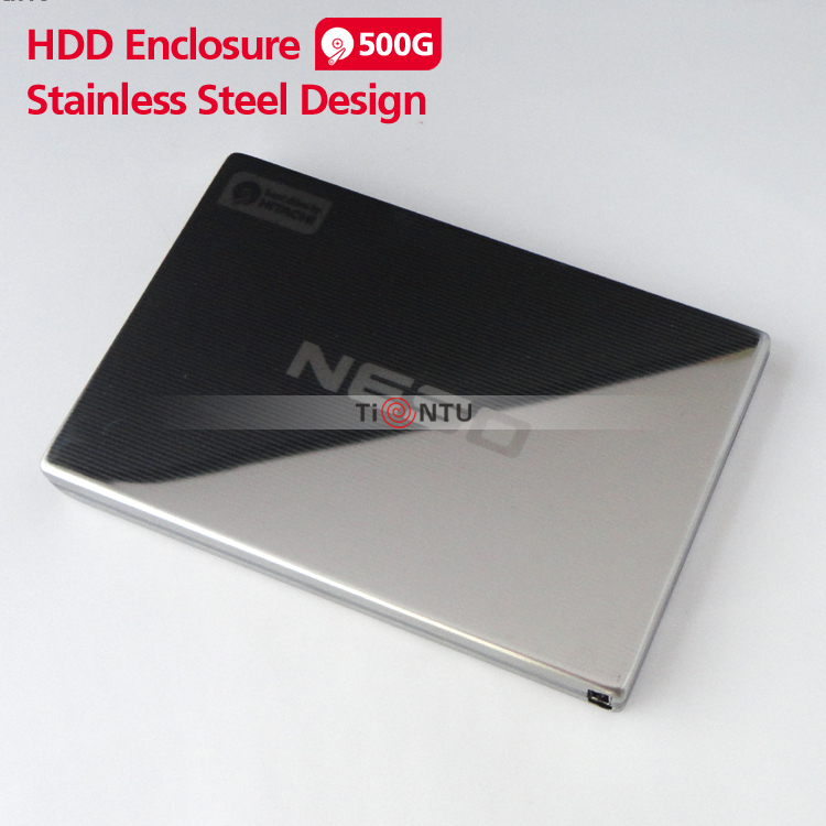 New NESO 500G portable hard disk  2.5 HDD USB2.0 Stainless Steel Design External hard drive hot selling<br><br>Aliexpress
