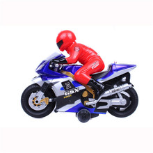 1Piece Light and Music RC Motorcycle Boys Electric Motorcycle Toy(China (Mainland))