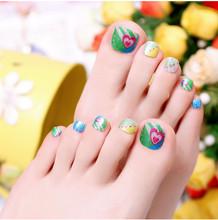 03# toe sticker fashion nail art maniture nail sticker  decal manicure pedicure
