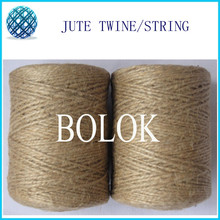 Natural jute twine (1.5mm)110yards/spool 2 ply twisted 20pcs/lot jute yarn twine, jute fibre twine by free shipping(China (Mainland))