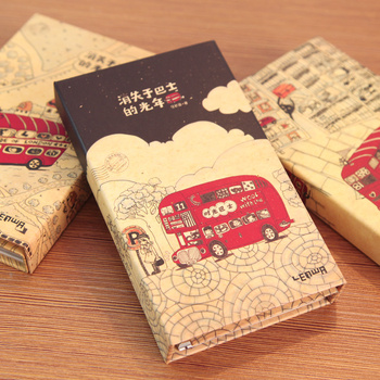 Stationery vintage wind notepad coil diary notebook