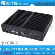 I5 Mini pc computer intel 4670T cpu Gigabit Lan gaming office pc