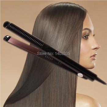 Бесплатная доставка профессиональная электрическая шина выпрямитель для волос утюг пермь потяните для укладки средства ес / сша / UK подключаемые 2139
