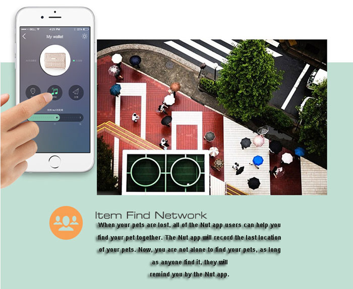 Nut 2 Two-way Bluetooth 4.0 Mobile Phone Anti-lost Alarm Smart Finder Patch for Keychain