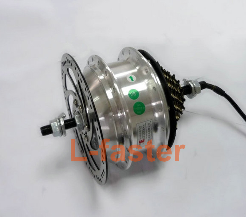 36v 48v 250w electric bike rear wheel hub motor electric