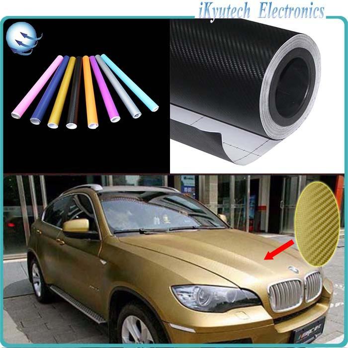 200*50CM Car Styling Carbon Fiber 3M Vinyl K-520 Primer Cutter Car Auto Paint Film Car Stickers Full 3D Exterior Scrape Panel(China (Mainland))