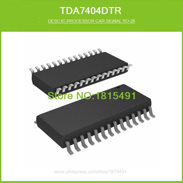 Free Shipping TDA7404DTR IC PROCESSOR CAR SIGNAL SO-28 7404 TDA7404 28-SO 10pcs(China (Mainland))
