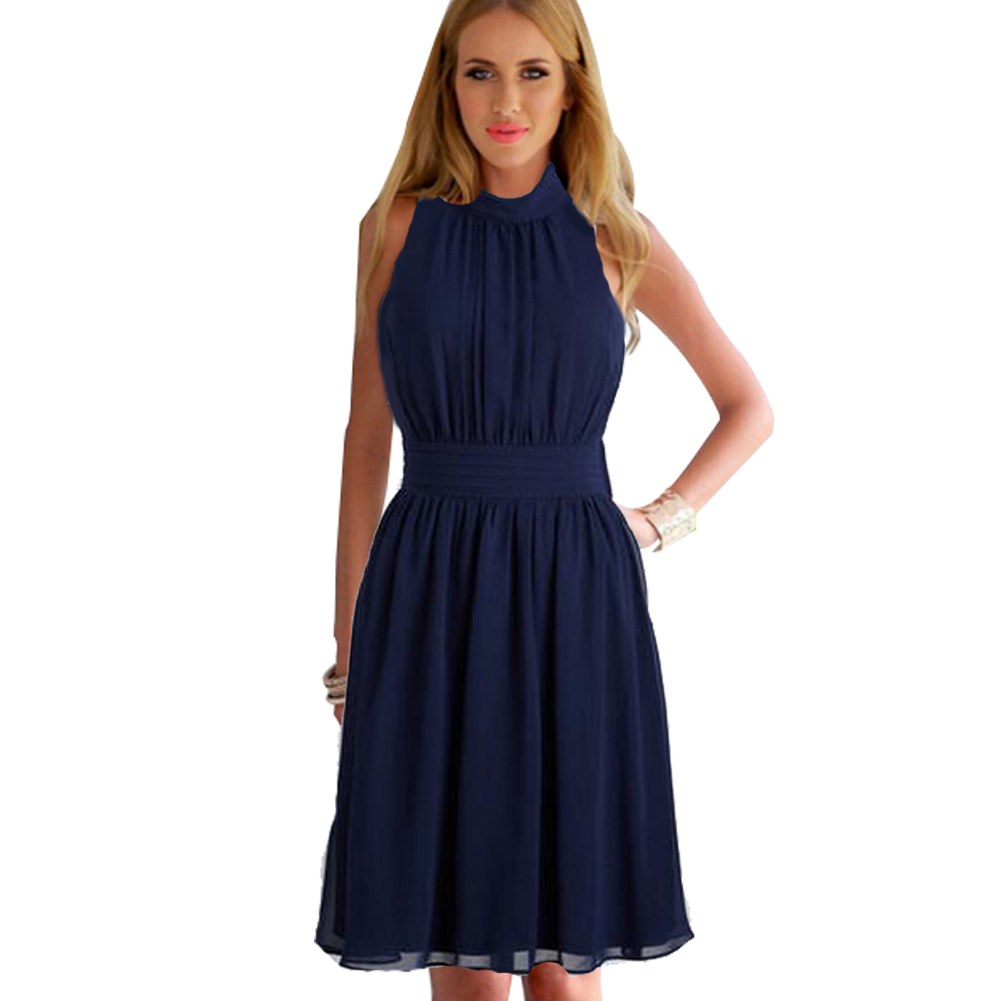 Popular Navy Blue Dress-Buy Cheap Navy Blue Dress lots ...