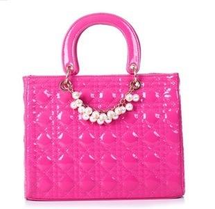 2014 New Fashion Casual Banquet Handbag Pearl Chain Bag in Stock