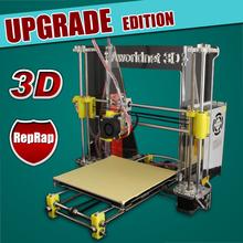 Prusa Reprap i3 Borlee 3D printer DIY kit A600 impressora 3D machine printer 1.75mm extruder head update version easy install