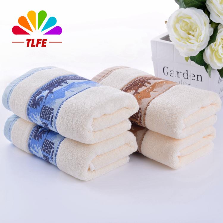 Towel 34*75cm 100% Soft Cotton Toallas 2 Pieces Bamboo Kitchen Towel Toalla Microfibra Juventus 2015 Pratos Towels L0077(China (Mainland))