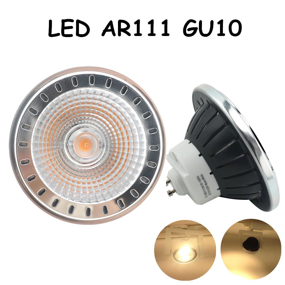 GU10 Base 12W AC 85-265V LED AR111 GU10 Light Bulb CREE COB Chip Led Spotlight Bulb with 75-100W Halogen Equivalent(China (Mainland))