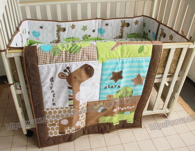 3 шт. прекрасный детское постельное белье комплект жираф постельные принадлежности ...