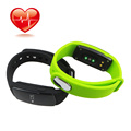 HR Bluetooth 4 0 Smart Bracelet Watch Smartband ID107 Heart Rate Monitor Wristband Pedometer Fitness Tracker