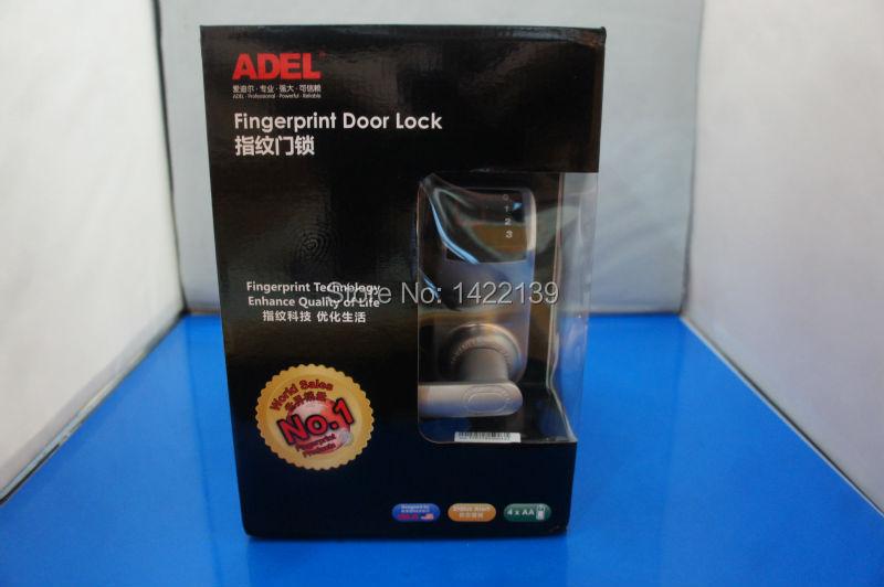 New ADEL3398 , Biometric Fingerprint Keyless DIY Door Lock ,3 in 1(Fingerprint+password+mechanical key) with installation tool(China (Mainland))