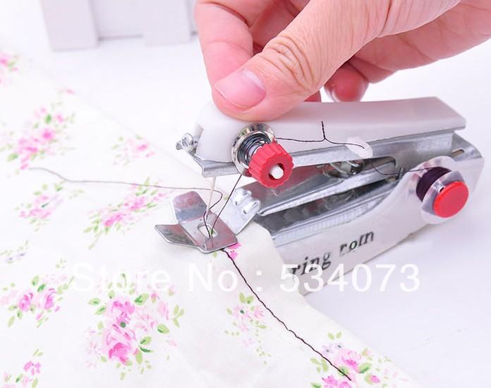 Tascabile macchina per cucire manuale mini macchina per for Mini macchina da cucire portatile singer