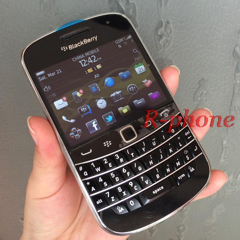 Original BlackBerry 9900 Bold Mobile Phone Unlocked 5MP 3G WIFI Bluetooth Refurbished Smartphone English Arabic Keyboard (China (Mainland))