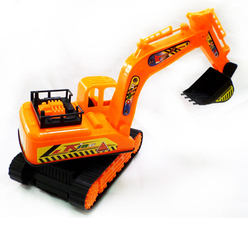 Department of toy car tractor Model truck model car tractor excavator bulldozer pressure road Children Free Shipping(China (Mainland))