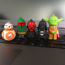Star Wars Cartoon USB Pen drive Star wars darth vader 4GB/8GB/16GB/32GB usb flash drive flash memory stick pendrive U disk(China (Mainland))