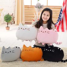 super Q cartoon plush toy stuffed doll pillow cushion cat kitten kitty lover children Christmas gift 1pc(China (Mainland))