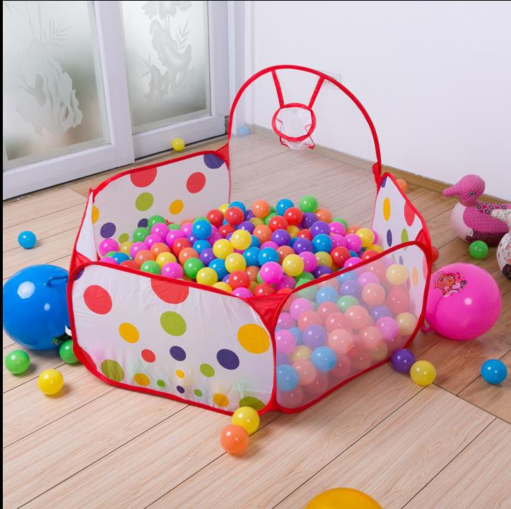 Children's Toys Play Tent Ocean Ball Pool BOBO Ball Pits With A Shooting Folding Cloth Children Play House(China (Mainland))