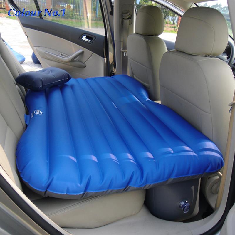 Si ge d 39 auto couverture arri re de voiture air matelas voyage lit gonflab - Matelas gonflable de qualite ...