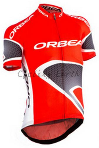 Orbea 2015 -1 Summer Mens Red short sleeve cycling jersey Shirt Clothes Top Only Plus size XXS-5XL  Free Shipping <br><br>Aliexpress