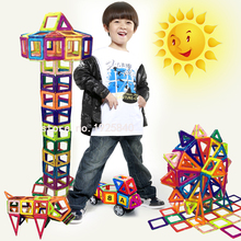 132pcs Mini Model & Building  Magnetic  Blocks Toy Kit  Magnetic Designer Construction  Plastic  Educational Toys  For Kids Gift