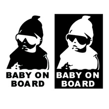 Super Cool Kids Baby on Board Carlos Hangover funny car vinyl sticker decal adhesive sticker Free shipping