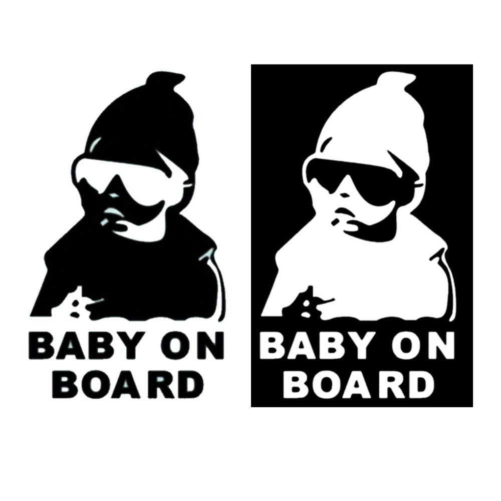 Super Cool Kids Baby on Board Carlos Hangover funny car vinyl sticker decal adhesive sticker(China (Mainland))
