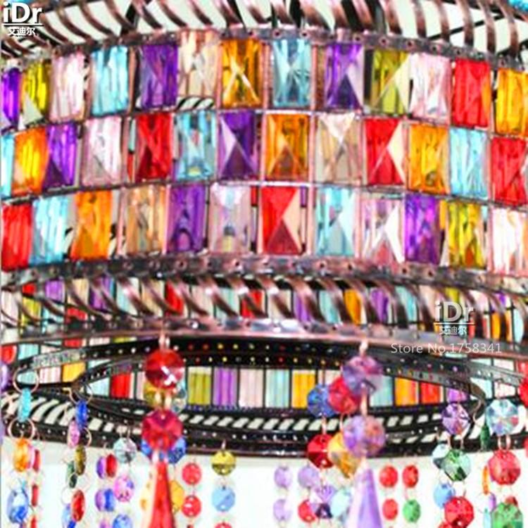 Купить Тайский стекло лампы Джейн Европейский пастырской гостиной лампа спальня лампа ресторан украшен Подвесные Светильники wwy-0408